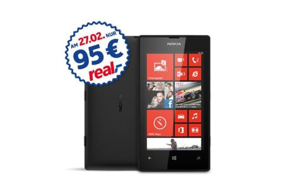 Nokia Lumia 520 Real
