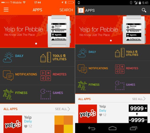 Pebble App Store 01
