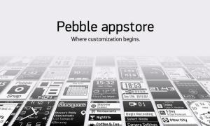 Pebble Appstore