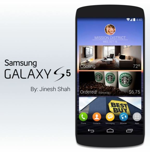 S5 Konzept Gerät