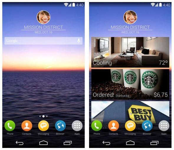 S5 Konzept Screenshots