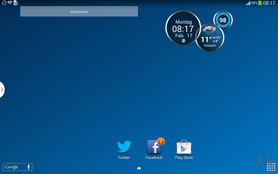 Samsung Galaxy Note 10.1 2014 Edition Screenshot (1)
