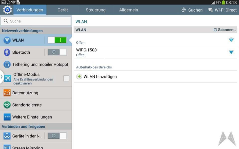 Samsung Galaxy Note 10.1 2014 Edition Screenshot (5)