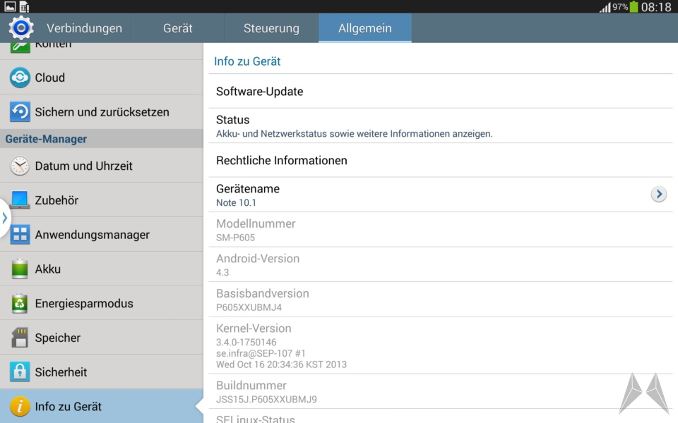 Samsung Galaxy Note 10.1 2014 Edition Screenshot (9)