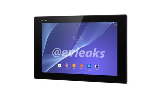 sony xperia z2 tablet neue details und erste pressefotos. Black Bedroom Furniture Sets. Home Design Ideas