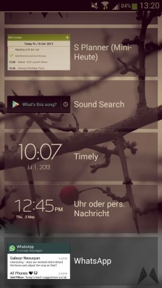 WhatsApp Android Lockscreen-Widget