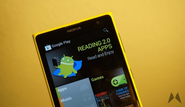 Windows Phone Android Google Play Header