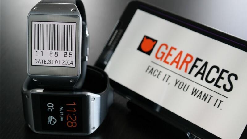 GearFaces: Samsung Galaxy Gear bekommt Portal für Watchfaces