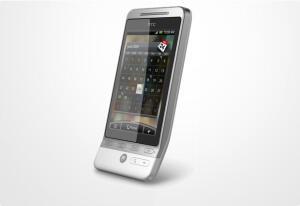 Die weiße Version von HTC Hero bekommt ein Gehäuse mit der Teflonbeschichtung, was die Handhabung nochmal steigert