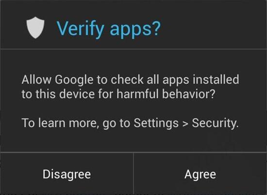 Android App-Verifikation