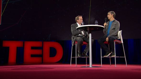 Larry Page TED Interview