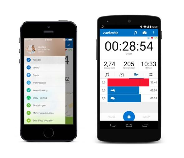 Runtastic 5 iOS Android