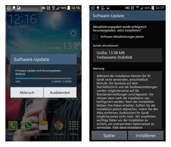 Samsung Galaxy Note Update