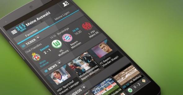 Sportnews-App 365Scores