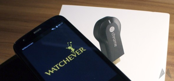 watchever chromecast