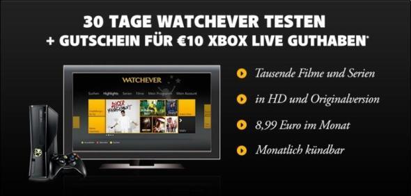 watchever xbox aktion 1