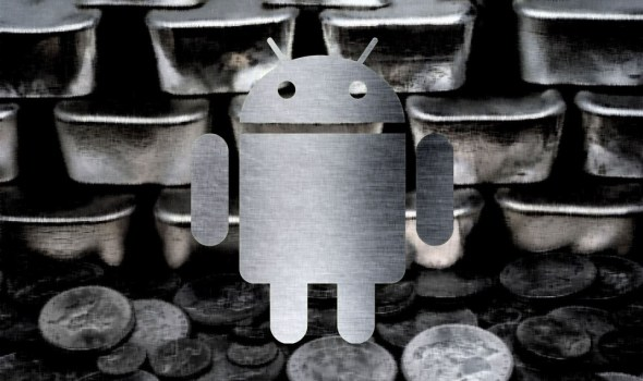 Android Silver Header