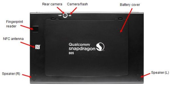 Back Snapdragon 805 MDP