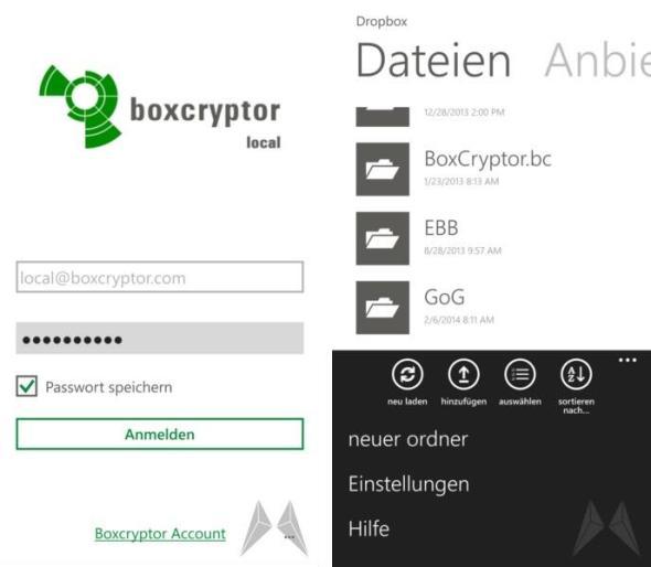 Boxcryptor Windows Phone 8 (14)