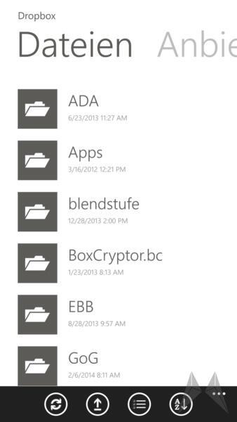 Boxcryptor Windows Phone 8 (8)