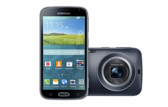 Galaxy K zoom_Charcoal Black_03 5