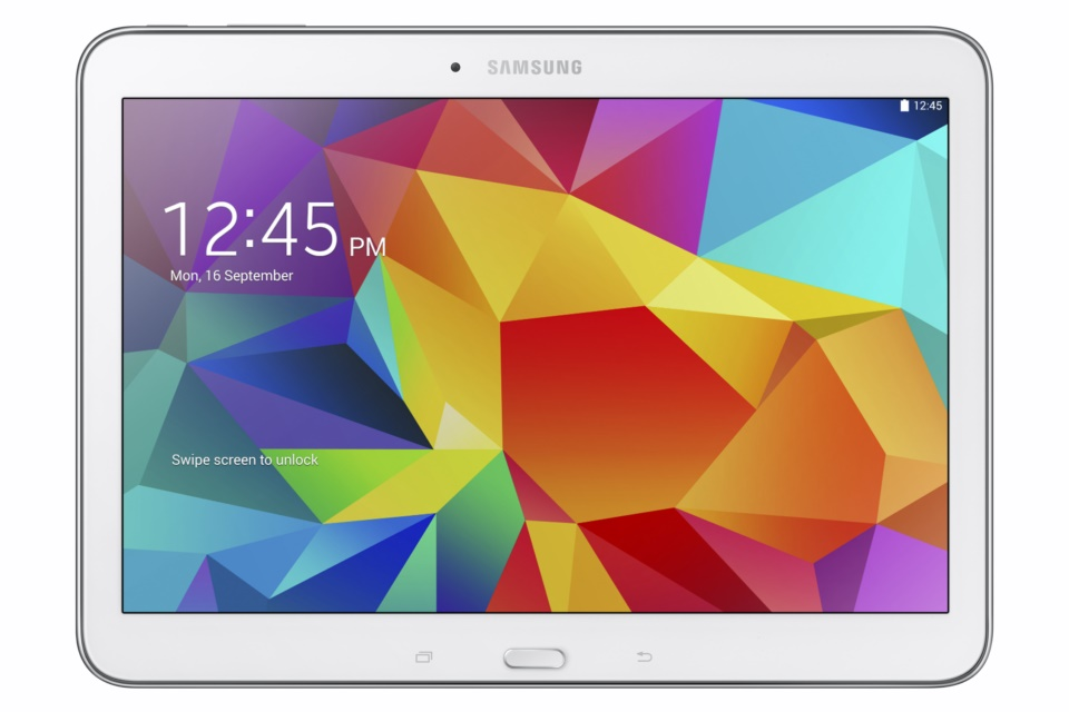 Galaxy Tab4 10.1 (SM-T530) White_1 3