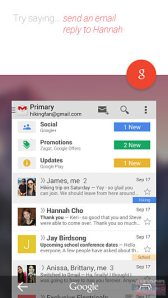Google Now Gmail