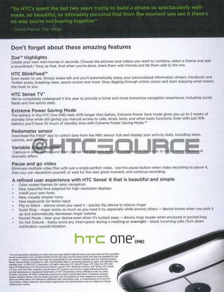 HTC One M8 Schulungsmaterial 02