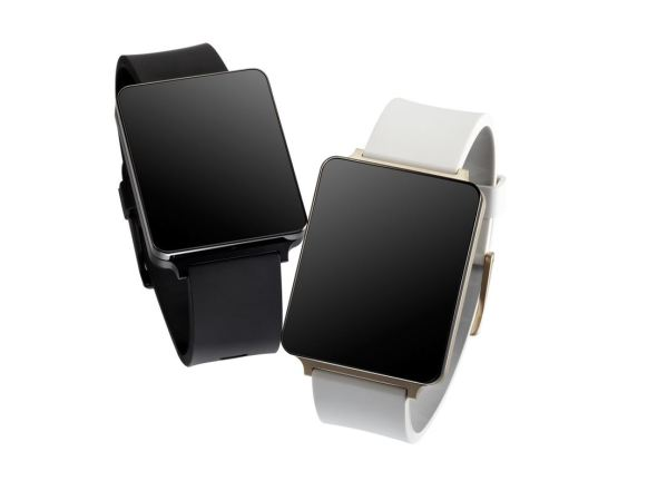 LG G Watch Schwarz Gold Header