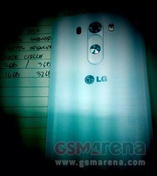 LG G3 Rueckseite