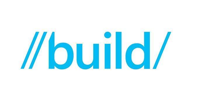 Microsoft Windows Build 2014 Logo Header