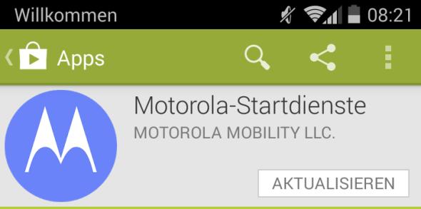 Motorola-Startdienste