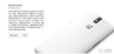 OnePlus One BabySkin