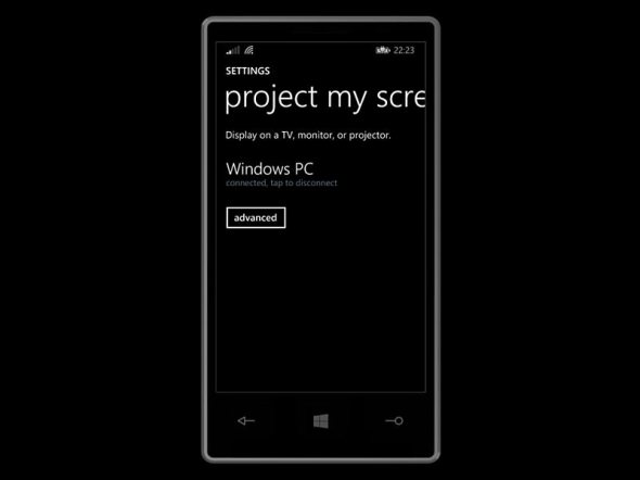Windows Phone Project My Screen