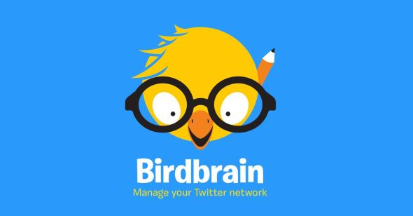 Birdbrain Twitter iOS Logo Header