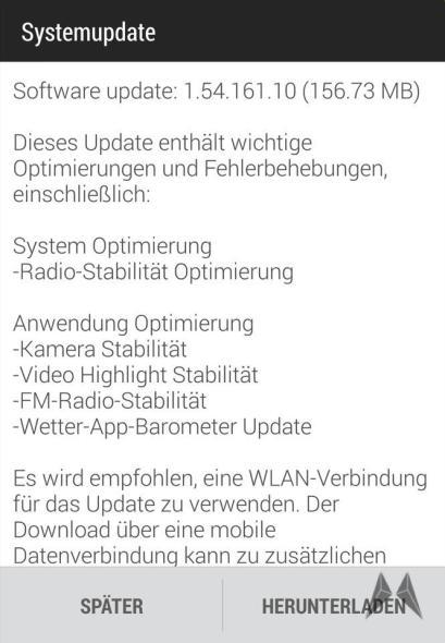 HTC One M8 Firmware Update