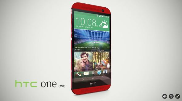 HTC One M8 Rot