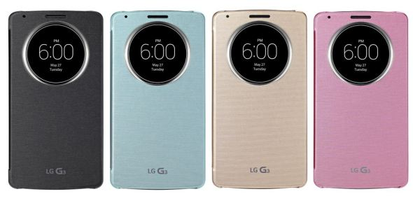 LG G3 Quick Circle Case