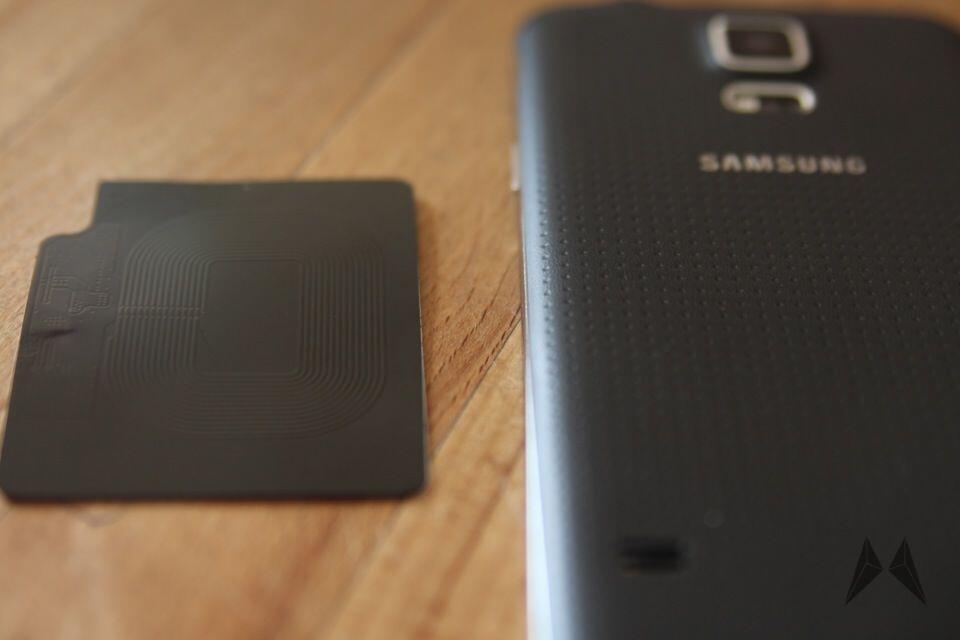 Samsung Galaxy S5 QI Receiver Zubehör IMG_9098