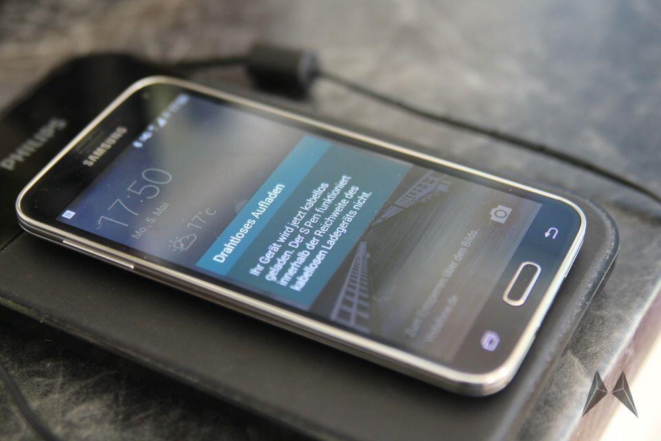 Samsung Galaxy S5 QI Receiver Zubehör IMG_9110