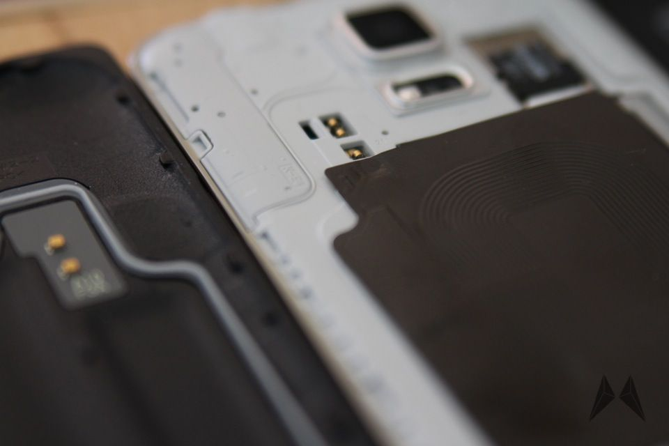 Samsung Galaxy S5 QI Receiver Zubehör IMG_9115