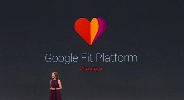 Google Fit Keynote Screenshot