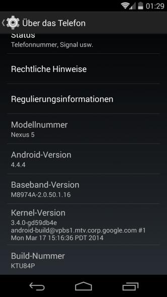 android 4.4.4 nexus