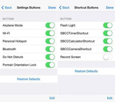 iOS 8 Versteckte Einstellungen