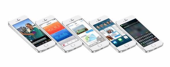 iOS 8 header