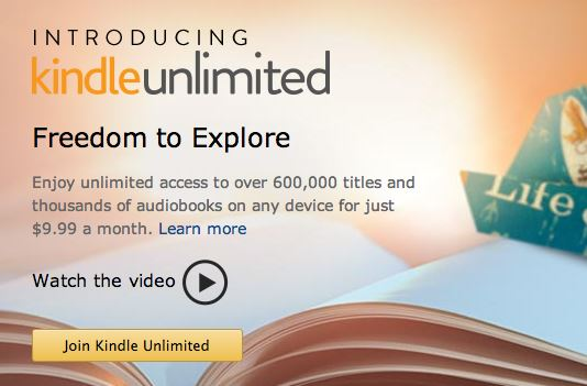 Kindle Unlimited Banner