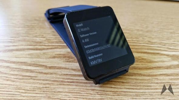 LG G Watch Update Header