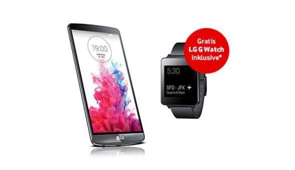LG G3 und G Watch bei Vodafone
