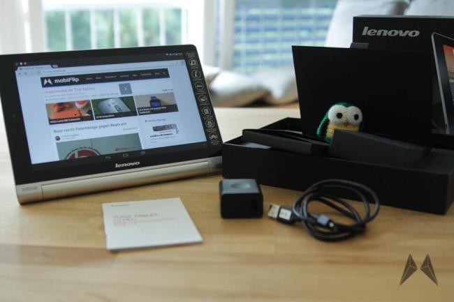 Lenovo Yoga Tablet 10 HD+ Lieferumfang IMG_0276