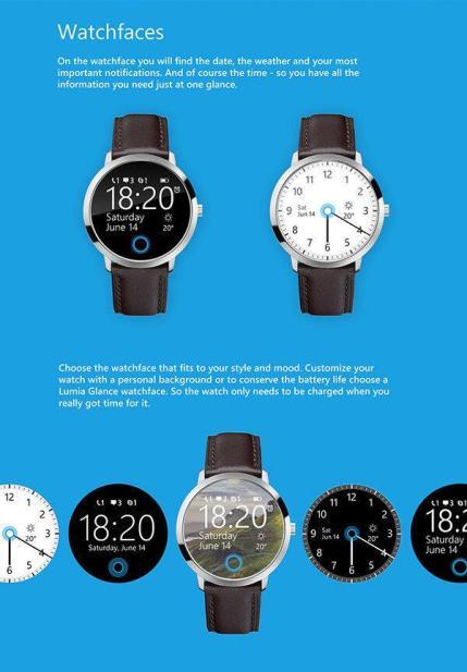 Microsoft Smartwatch Konzept 01